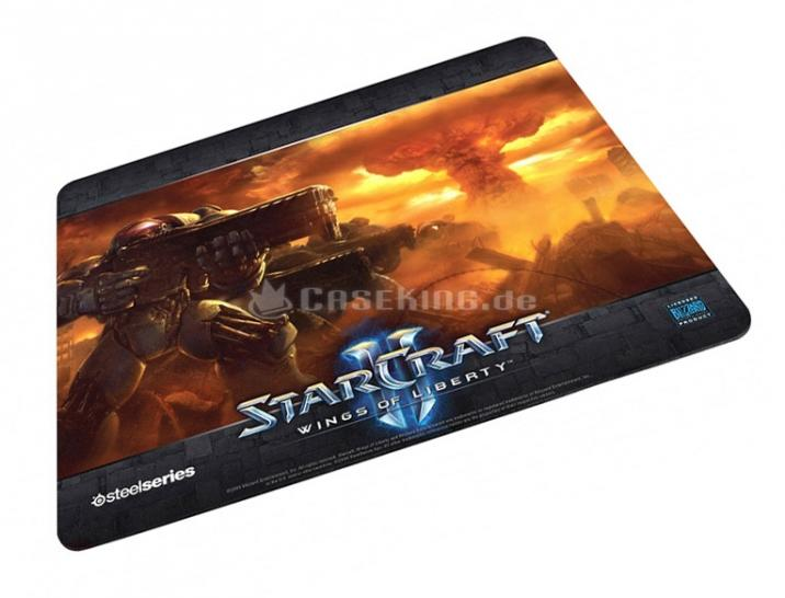 Steelseries Mouse Pad QcK Starcraft II Nuke Limited Edition