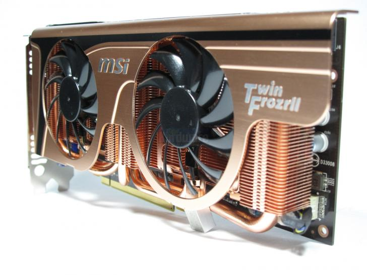 MSI Geforce GTX 465 Twin Frozr II Golden Edition Plus