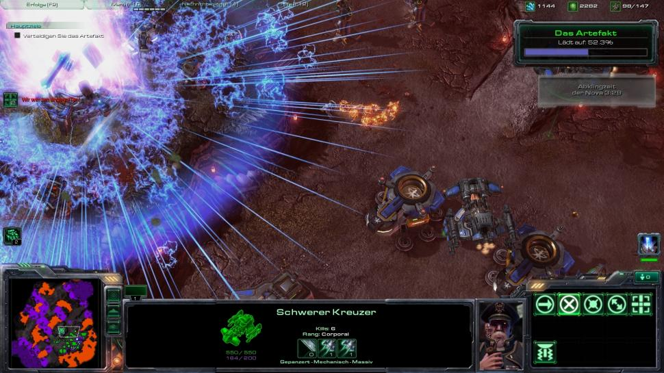 Starcraft 2 Wings of Liberty: Patch 1.2.1 veröffentlicht