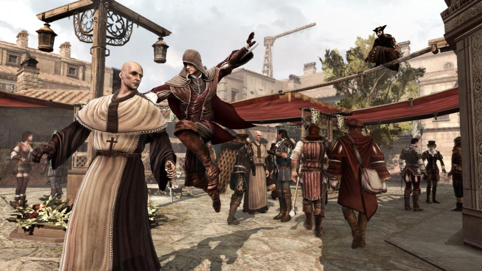 Assassin's Creed: Brotherhood - Gameplay-Trailer mit Unkle-Musik (1)