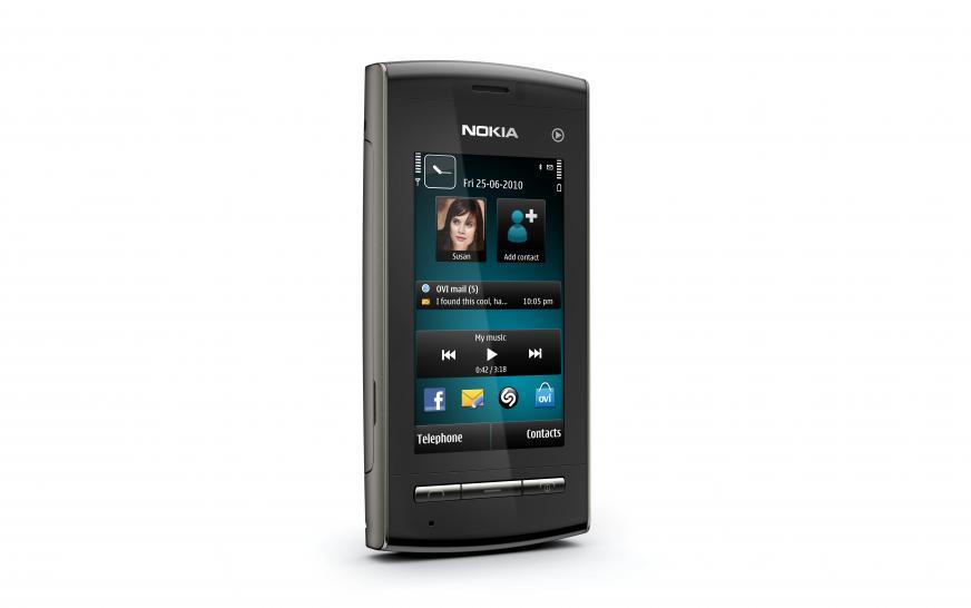 Nokia 5250: Einsteiger-Smartphone mit Symbian 1 und 2,8 ...