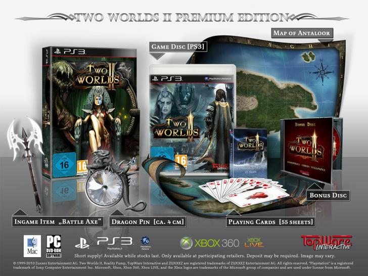 Two Worlds 2 Content Premium PS3
