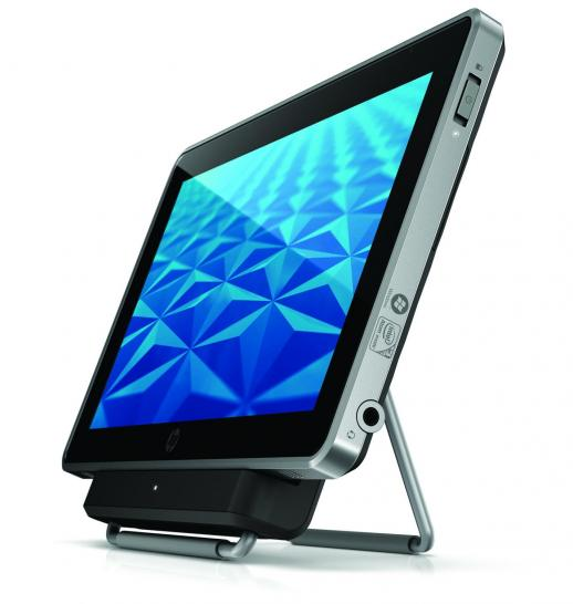 HP Slate 500: Multi-Touch-Tablet mit Windows 7 vorgestellt