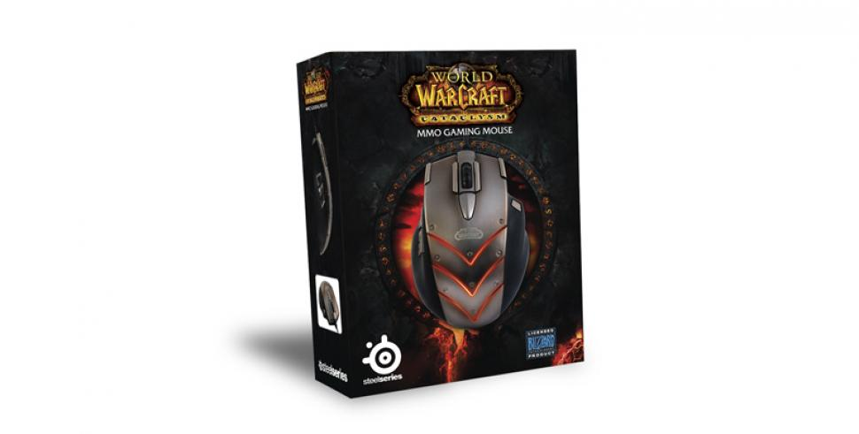 Steelseries kündigt World of Warcraft: Cataclysm MMO Gaming Maus an