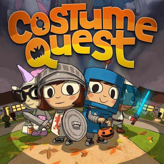 Die Helden aus Costume Quest
