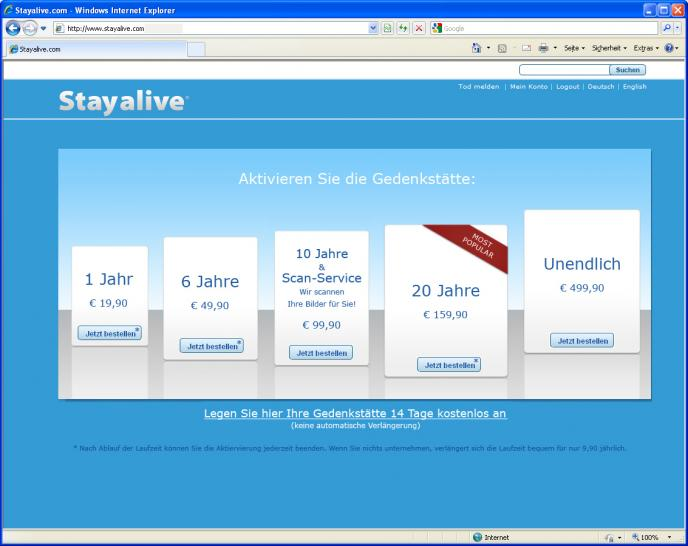 Stayalive - virtuelle Gedenkstätte. (13)