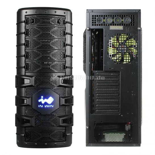 In Win Dragon Rider: Big-Tower mit fünf Lüfter und USB 3.0
