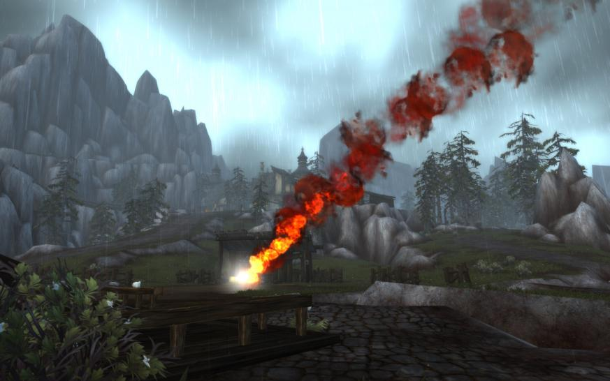 WoW Cataclysm: Pictures from the Worgen Starting Area.  (1)