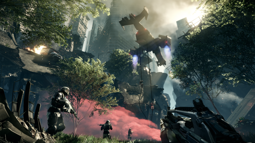 Crysis 2: Neue Screenshots aus Single- und Multiplayer-Modus