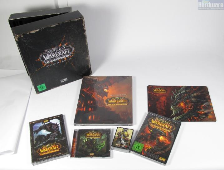 Unboxed: World of Warcraft: Cataclysm - Collector's Edition ausgepackt.  (1)