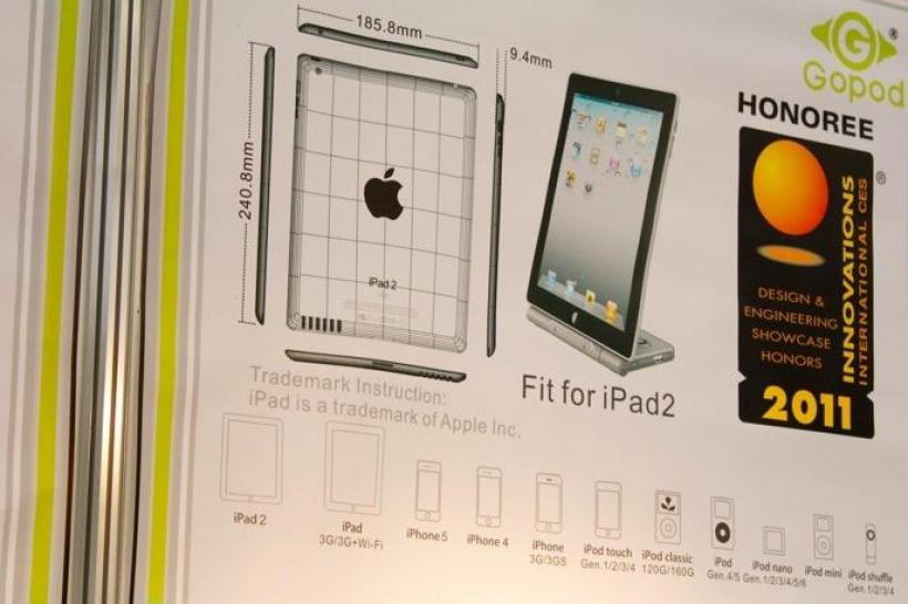 Ein weiteres iPad 2-Mock-up-Sample.