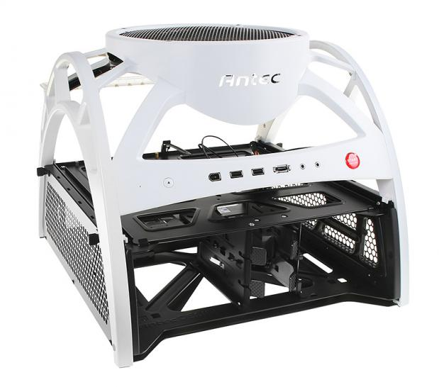 Antec Skeleton Open Air Case in der Limited White Edition vorgestellt  (1)