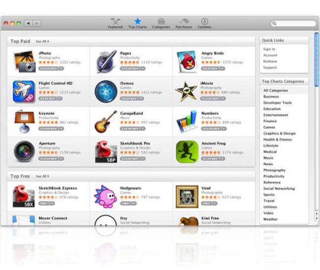 Избранные материалы сайта. winline.ru. OS X. Новости. Многие приложения и