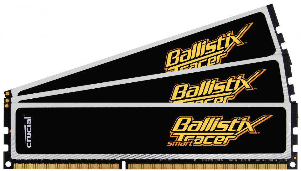 Crucial Ballistix Smart Tracer 6-GB-Kit (DDR3-1600)