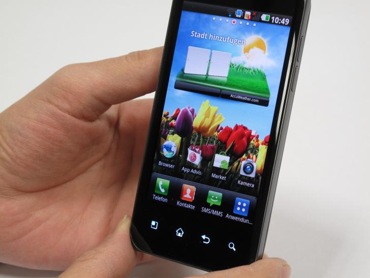 LG Optimus Speed im Hands-on-Test.
