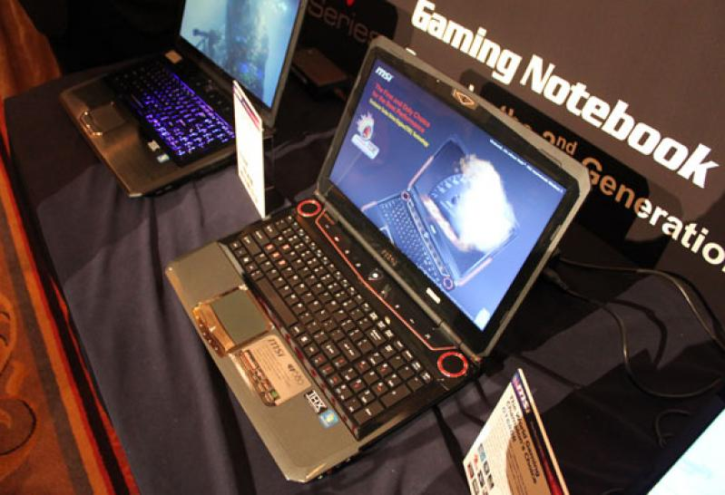 MSI GT 780 Gaming Notebook - Alternatives Design
