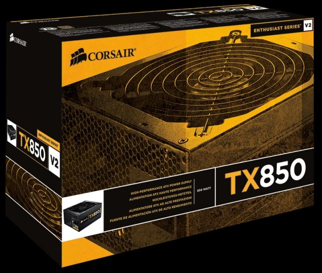 Corsair Enthusiast Series TX650 V2, TX750 V2 und TX850 V2 (7)