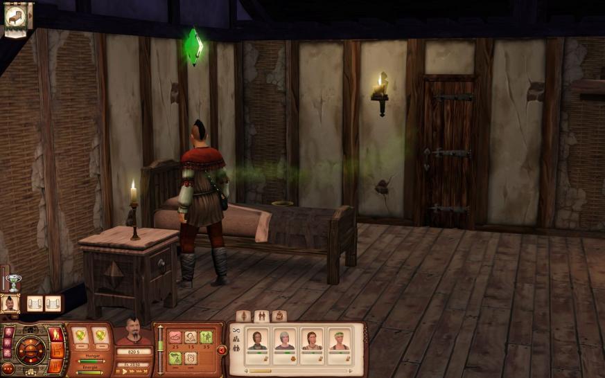 die sims mittelalter im pc games test was taugt die neue. Black Bedroom Furniture Sets. Home Design Ideas