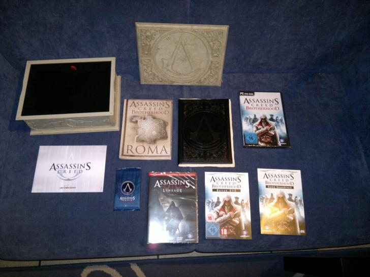 Assassins Creed Brotherhood Codex-Edition: Unboxing im PCGH-Forum