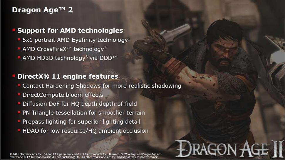 Dragon Age 2: Die AMD- und DirextX-11-Features laut AMD