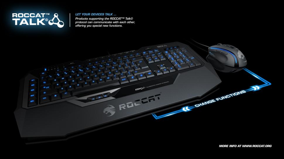 Roccat stellt Illuminated Gaming Keyboard Isku mit Talk-Technologie vor (1)