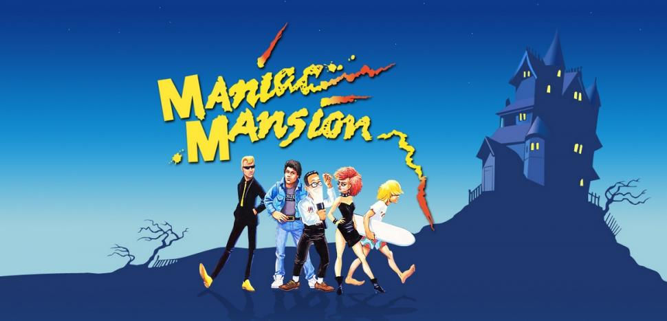 Maniac Mansion, das Kult-Adventure aus dem Jahr 1987, ist dank seines innovativen Bedienkonzepts ein Meilenstein der Point-and-Click-Adventures