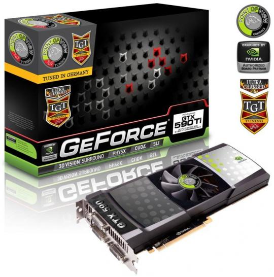 PoV GTX 590 Ultra Charged