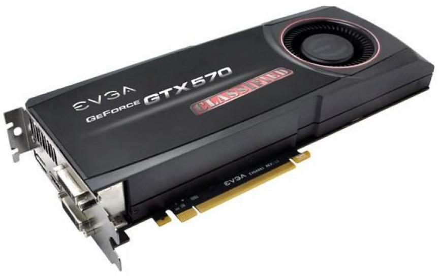 Geforce GTX 570 von EVGA auch als Classified (1)