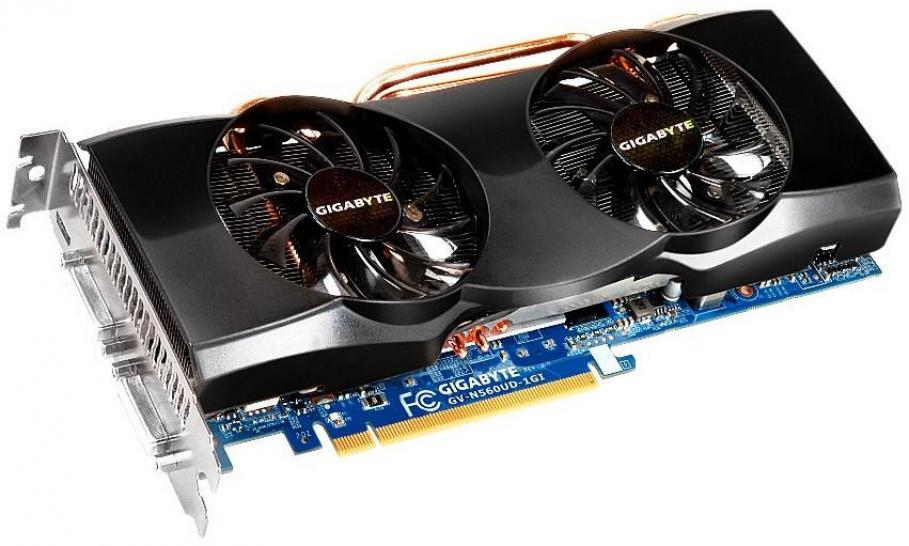 Geforce GTX 560 Ti: Gigabyte mit Windforce-2X-Modellen (1)