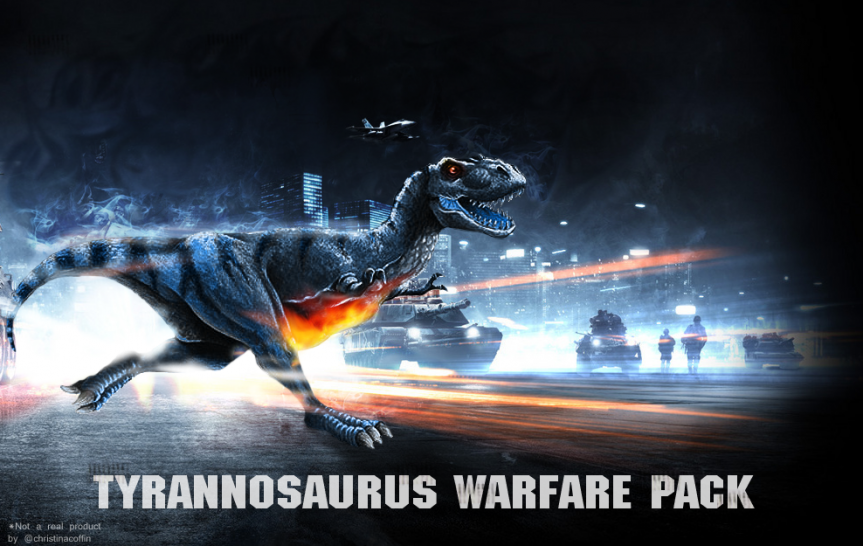 Battlefield 3 kurios: Youtube-Video zeigt Attacke auf Activision-Gebäude und T-Rex-Warfare-Pack (31)