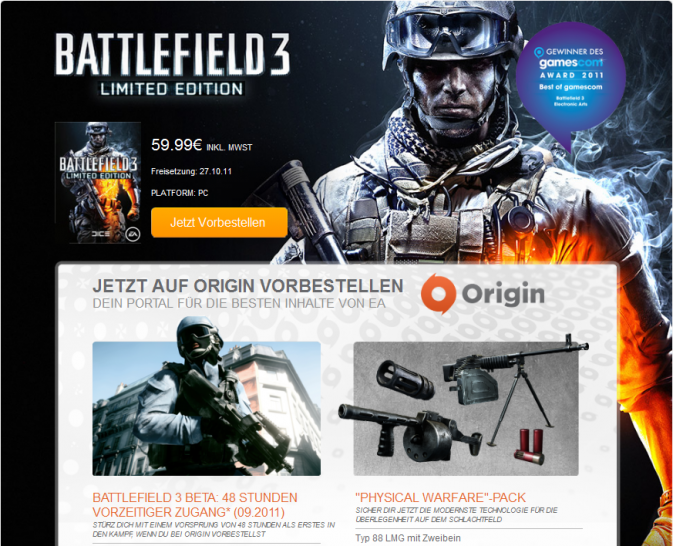 how to delete battlefield 4 trial from origin
