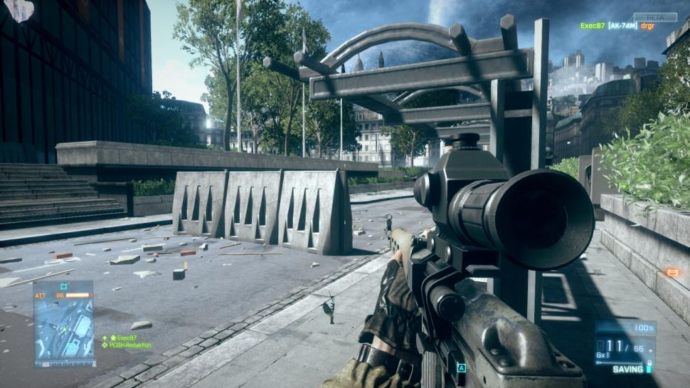 Seite 55 Shooter battlefield 3 beta on gameplay graphics bugs 75 maxed
