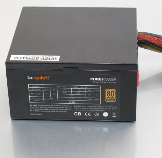 Be quiet Pure Power L8 CM 630W  1