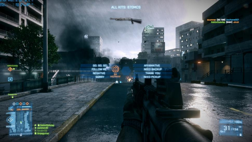 Battlefield 3 Commo Rose