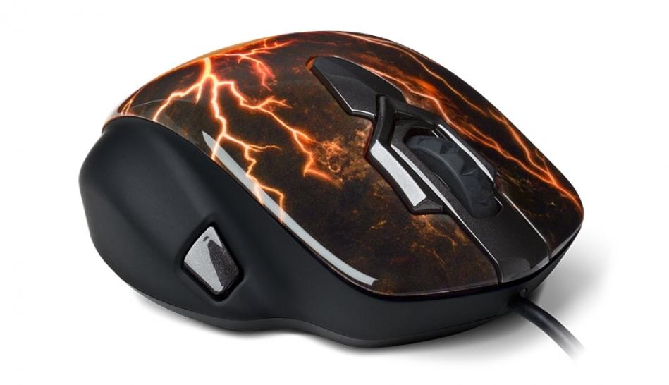 Neue World-of-Warcraft-Maus: Steelseries erweitert WoW-Serie mit World of Warcraft MMO Gaming Mouse in der Legendary Edition. (1)