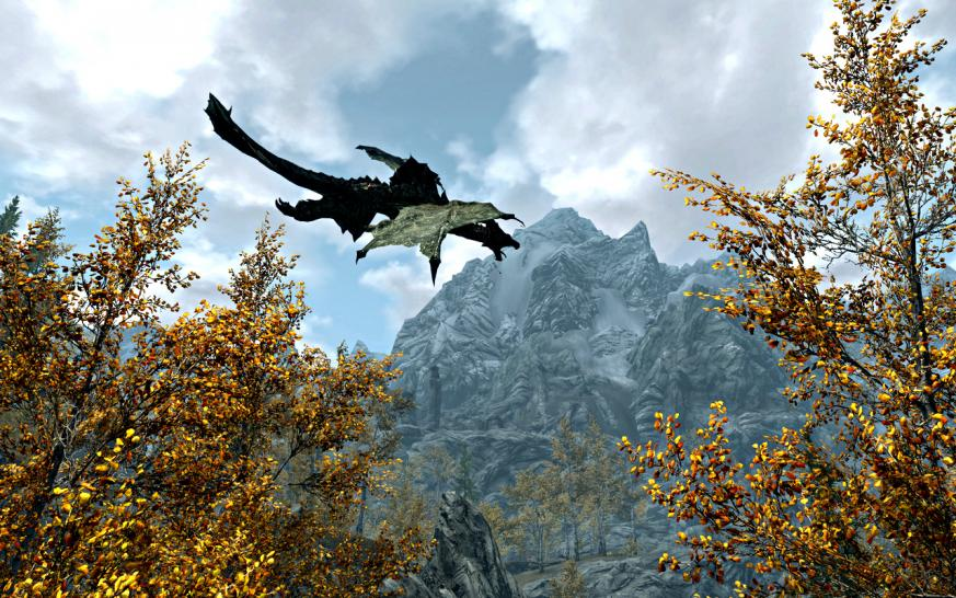The Elder Scrolls 5 Skyrim: Himmelsrand im Zeitraffer-Video (1)