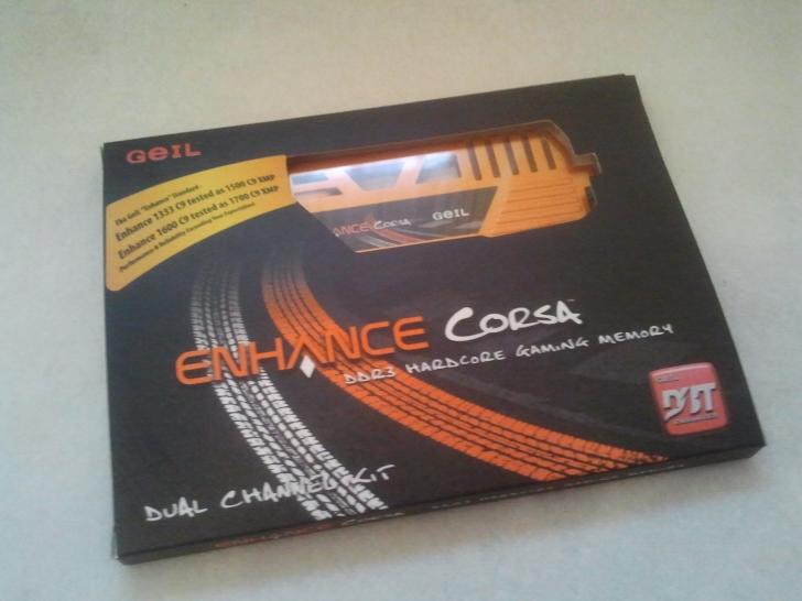 Geil Enhance Corsa 8GB DDR3-1600 CL9 im PCGHX-Test (1)