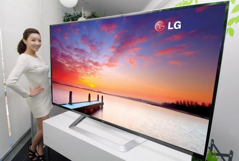 lgs 3d ultra definition tv mit 84 zoll weltweit gr ter. Black Bedroom Furniture Sets. Home Design Ideas