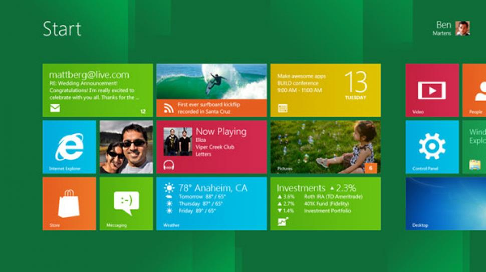 Microsoft Windows 8: Eine Million Downloads der Consumer Preview in 24 Stunden