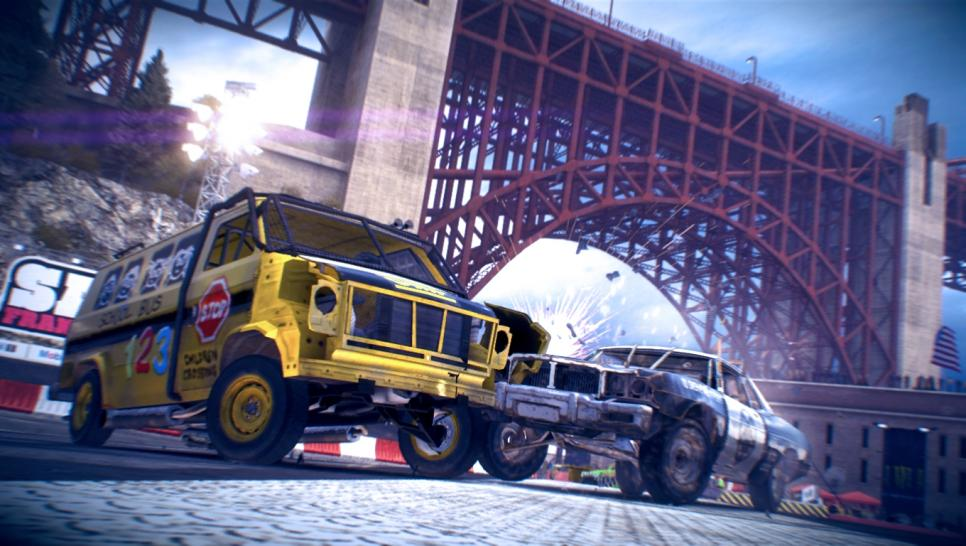 Dirt Showdown im Test: Eine Riesengaudi in der Onlinegruppe (1)
