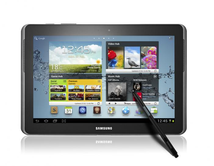Samsung Galaxy Note 10.1: Android-Tablet mit optionaler Stifteingabe im Hands-on-Test (2)