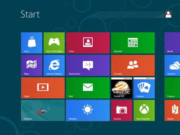Windows 8 - Screenshots der Consumer Preview-Version. (1)