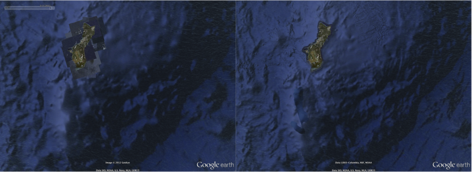 Google Earth: Datenupdate entmystifiziert Atlantis-Legende