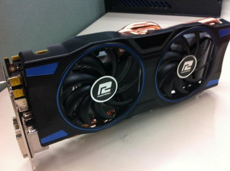Powercolor Radeon HD 7970 PCS in Arbeit