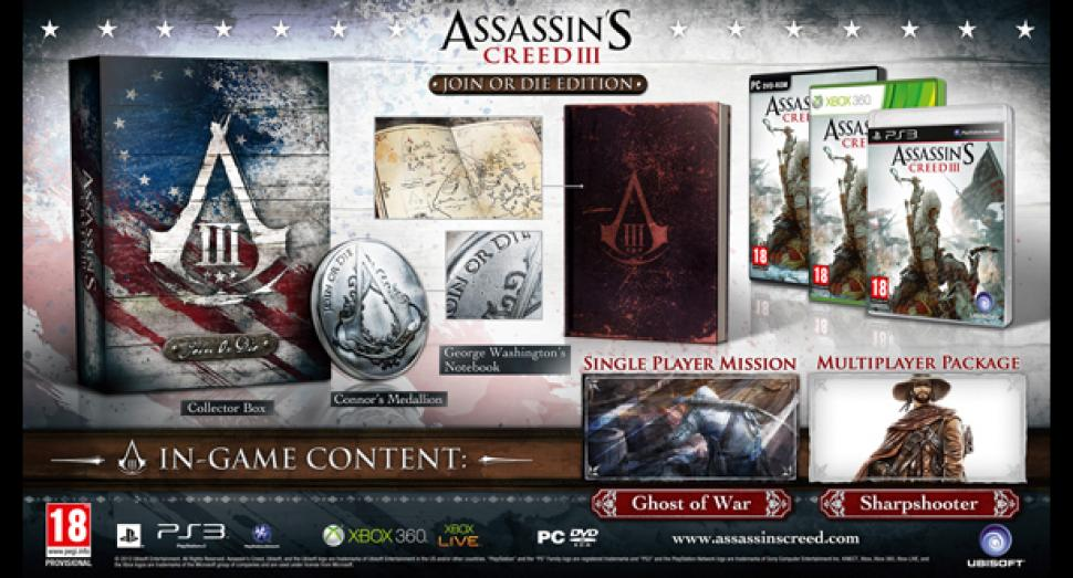 Assassin's Creed 3: Join or Die-Edition im Video ausgepackt  (2)