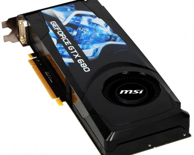 MSI Geforce GTX 680 Standardausgabe (4)