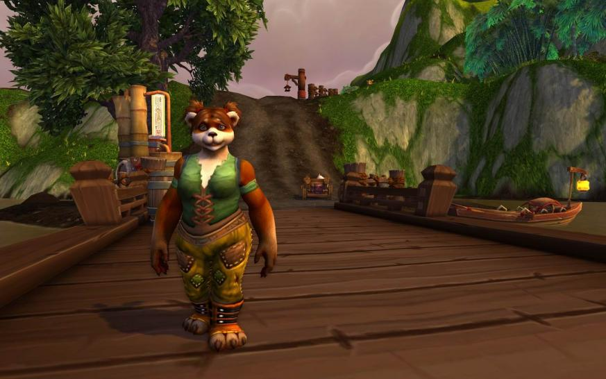 <b>World of Warcraft - Mists of Pandaria</b> Weiblicher Panda im Tal der Vier Winde