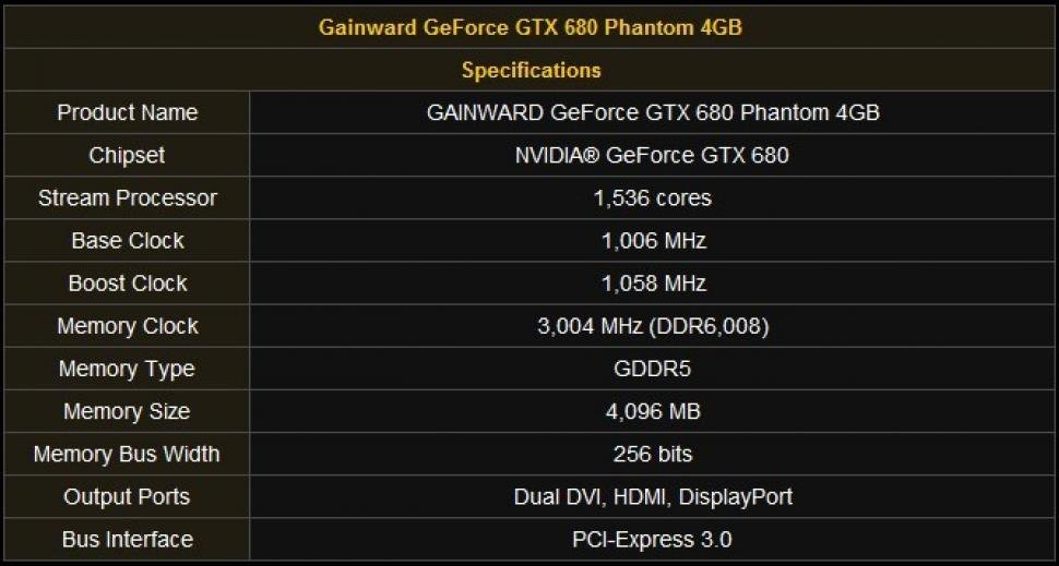Gainward Geforce GTX 680 Phantom (1)