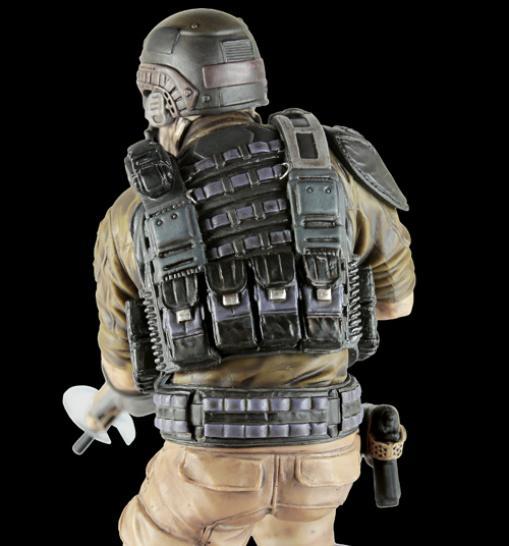 kleine figur soldat