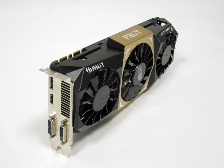 Beispiel für GPU in 28-nm-Fertigung: Palit Geforce GTX 680 Jetstream (1)